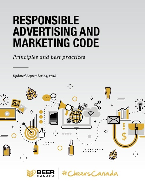 New Responsible Advertising and Marketing Code from the members of Beer Canada, the voice of the people who make our nation's beers. (CNW Group/Beer Canada)