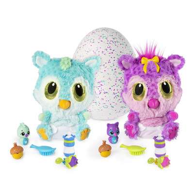 HatchiBabies are filled with new surprises and play elements (CNW Group/Spin Master)