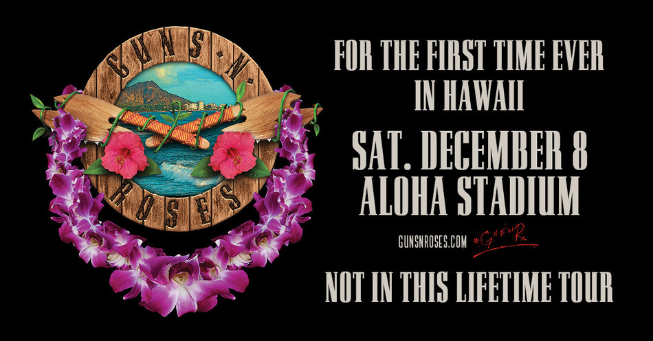 Guns N' Roses Announce First Ever Hawaii Show In The Band's