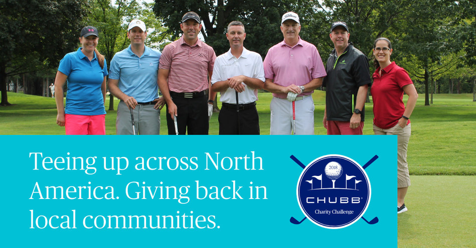 Chubb announces finalists for the 19th Annual Chubb Charity Challenge national tournament, October 28-30 in Kiawah, SC. Regional event winners from across the U.S. and Canada advance to the national golf competition with a chance to win up to $50,000 for their charity.