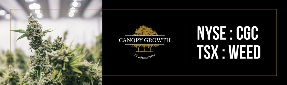 Canopy Growth Completes First Legal Medical Cannabis Export from Canada to the United States (CNW Group/Canopy Growth Corporation)