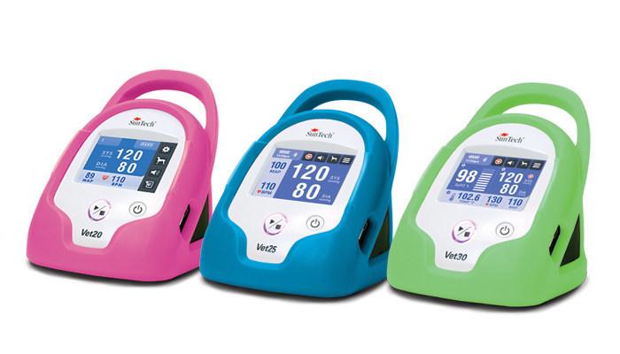 The Full Line of SunTech Vet Blood Pressure Monitors