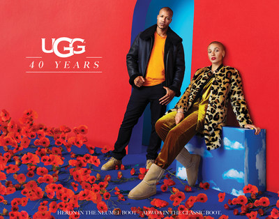 UGG celebrates 40 Years