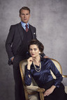 Hawes and Curtis limited edition collection inspired by The Crown: Season 2 (PRNewsfoto/Hawes and Curtis)