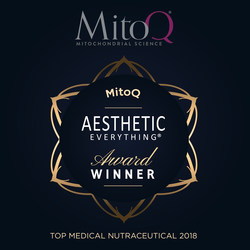 """Double Honors for MitoQ in 2018 Aesthetic Everything® Awards: MitoQ Wins """"Top Medical Nutraceutical"""" and Caprice Arkell Voted """"Top Executive"""""""