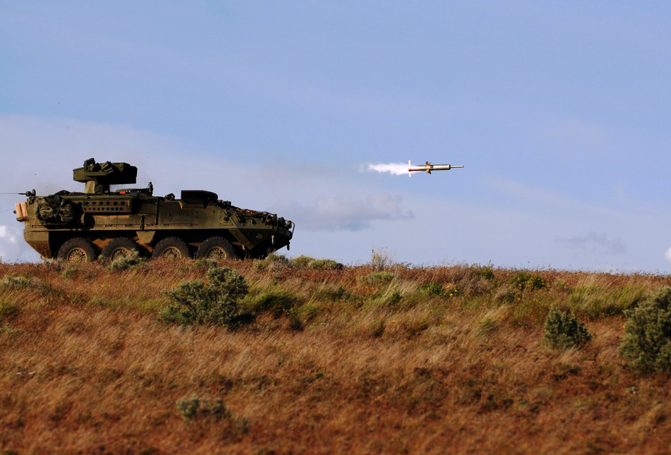 Raytheon systems like the TOW® missile enable ground forces to achieve overmatch against adversary armored and wheeled systems, regardless of the environment or conditions. (Photo: U.S. Army)