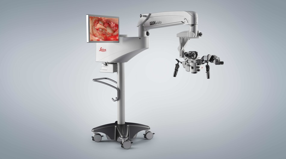 See more, simply, with the new PROVIDO surgical microscope from Leica Microsystems.