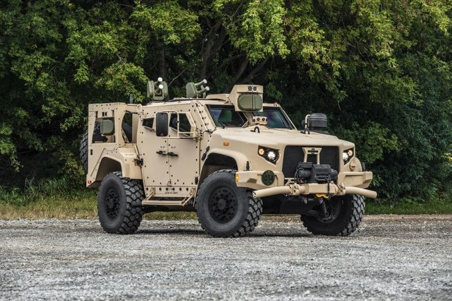 Iron Fist Light APS on Oshkosh Defense's JLTV
