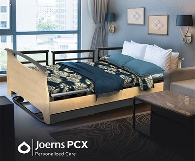 Vitality. Comfort. Safety. The Joerns PCX Personal Care bed is the best-in-class bed offered specifically to address the emerging trend of higher ADL needs served in Assisted Living communities while maintaining a home-like aesthetic with a modern designer appeal.
