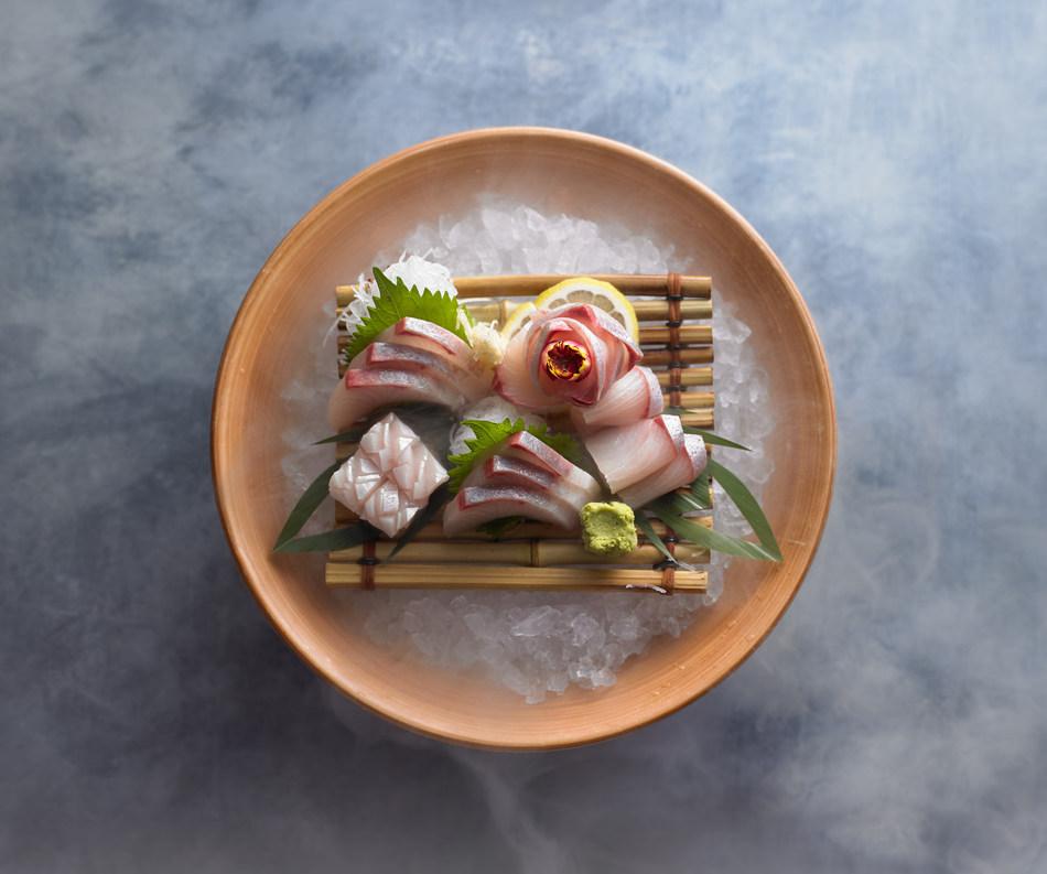 Sushi made with Spencer Gulf Hiramasa Kingfish