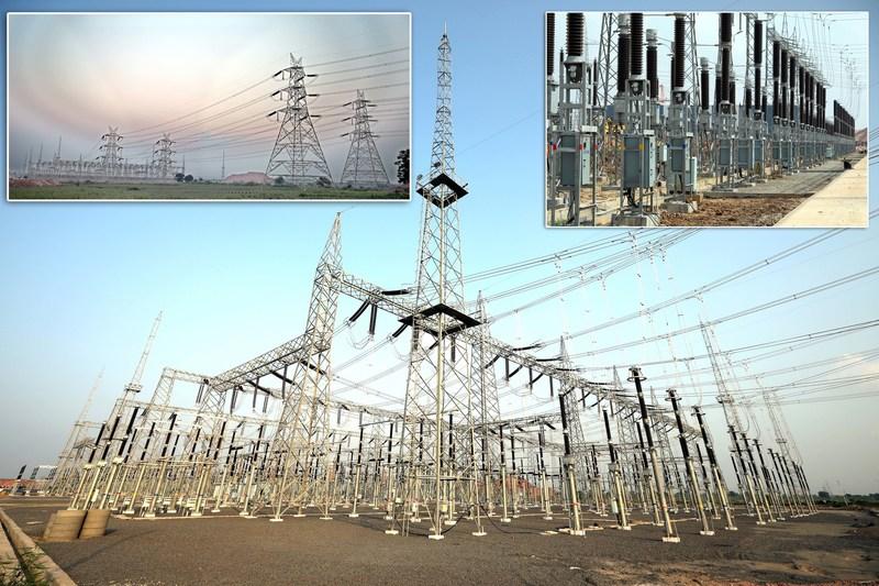 Kaleshwaram Lift Irrigation Link 1 Power System (PRNewsfoto/Megha Engineering and Infrastruc)