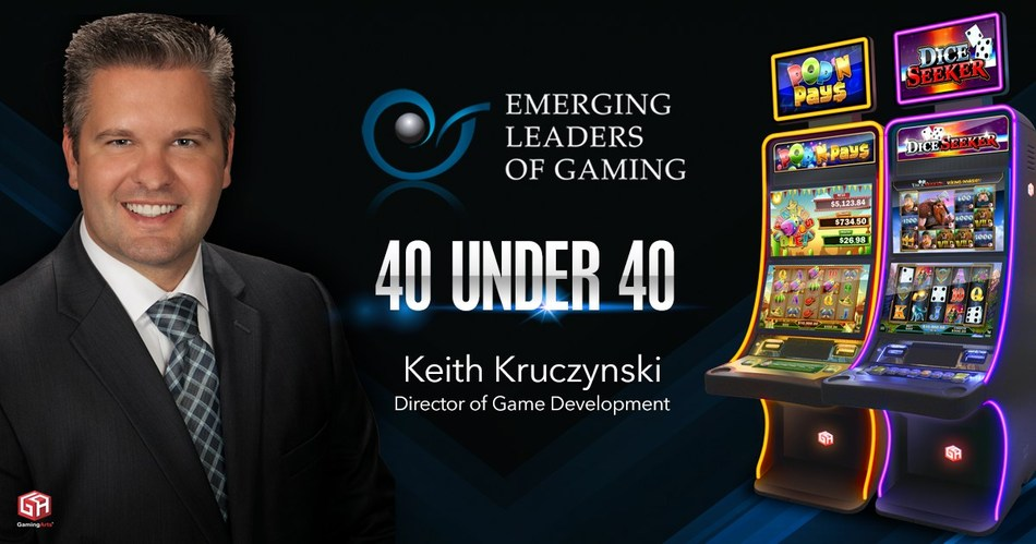 Gaming Arts' Keith Kruczynski, Director of Game Development, ELG 40 Under 40