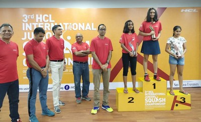 The 3rd HCL International Junior Squash Concludes