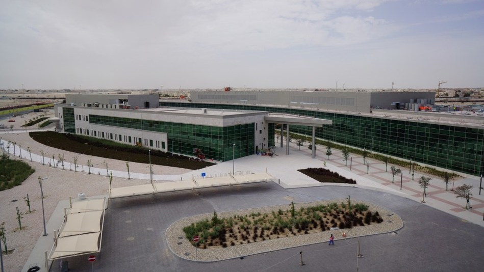 Qatar Biomedical Research Institute is housed at the Researchery in Education City (PRNewsfoto/HBKU)