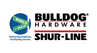 World Main Bulldog ShurLine logo