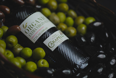 Carapelli Organic Extra Virgin Olive oil range