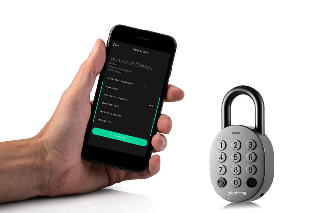 igloohome introduced its Smart Padlock, a versatile, remotely-managed security solution that provides owners with convenient access control to their properties and assets