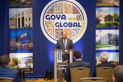 """Goya Foods, la compañía de alimentos de propiedad hispana más grande de los Estados Unidos, organizó Goya Global """"A Fusion of Cultures"""" (Goya Global: Una Fusión de Culturas), una feria  multicultural de alimentos y bebidas, que tuvo lugar durante cuatro días, desde el martes 2 de octubre hasta el viernes 5 de octubre del 2018, en el Marriott de Glenpointe en Teaneck, Nueva Jersey. (PRNewsfoto/Goya Foods)"""