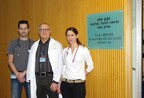 Prof. Gal Markel, Prof. Jacob Schachter and Dr. Ronnie Shapira-Frommer (left to right) of the Ella Lemelbaum Institute for Immuno-Oncology at Sheba Medical Center who have implemented a breakthrough protocol for ovarian cancer using Tumor Infiltrating Lymphocytes (TIL) treatment.