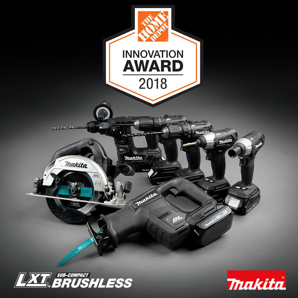 Makita created a new class in cordless with 18V LXT Sub-Compact, which combines the handling of 12V with the performance and compatibility of 18V.