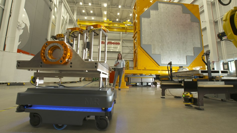 Currently in production, SPY-6 -- the U.S. Navy's next generation air and missile defense radar -- is being produced in Raytheon's new facility in Andover, Mass.