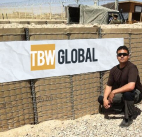 TBW Global operate and deploy expert linguists, training personnel and other specialist contractors into areas of conflict around the globe (PRNewsfoto/TBW Global)