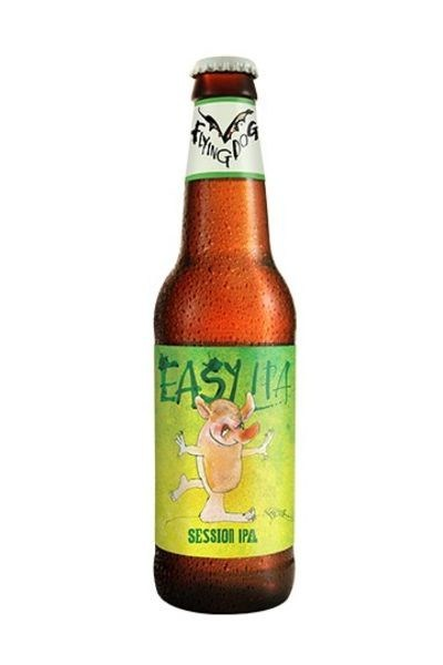 Flying Dog Brewery's Easy IPA features original art by Ralph Steadman.
