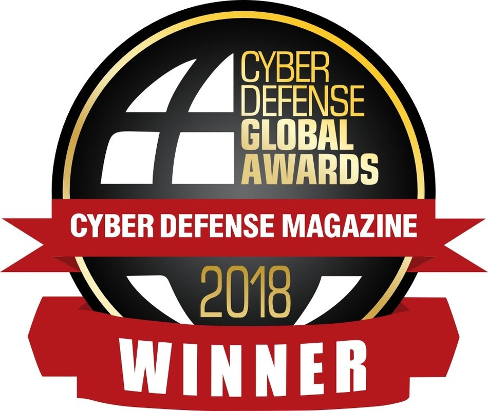 """The Cyber Defense 2018 Global Award for """"Best Product Digital Footprint Security"""" has been won by international cybersecurity company Resecurity in acknowledgment of one of its core products, Resecurity Risk™, an AI-driven digital risk monitoring platform that enables comprehensive enterprise ecosystem protection from both external, internal and cloud-related security threats."""