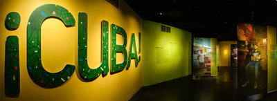 ¡CUBA! explores the extraordinary biodiversity across the Caribbean island's remote forests, mysterious caves, expansive wetlands, and dazzling reefs through immersive exhibits that have been developed with colleagues from the Cuban National Museum of Natural History. The bilingual exhibition also highlights Cuba's culture, its people, and its history. ©AMNH/D. Finnin
