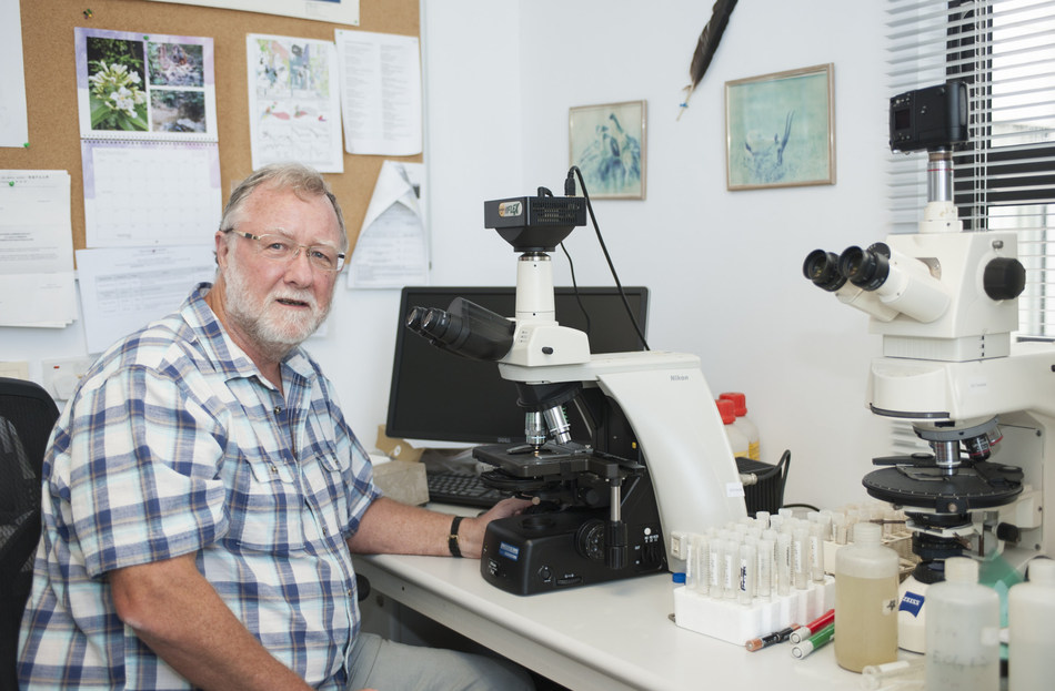 Professor Richard Bernhart Owen is the first scholar to provide a continuous and detailed multi proxy record of climate change in Kenya extending back around one million years (PRNewsfoto/HKBU)