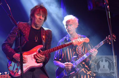 Pictured are Richie Sambora and Robby Krieger performing at the 2017 All-Star Concert for St. Jude Children's Research Hospital® in Malibu, California. Photo credit: David Levin