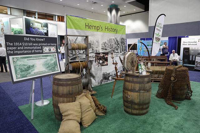 Hemp In America at Cannabis World Congress in Boston, Oct. 17-20.  @CWCBEXPO (PRNewsfoto/CWCBExpo)