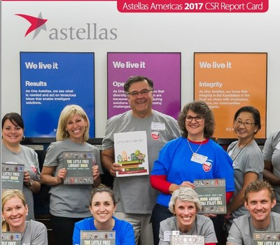 Astellas Details Progress and Commitment to Patients and the Community in the Company's Americas 2017 Corporate Social Responsibility Report Card