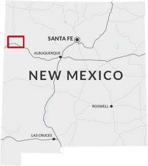 Figure 2: Laramide Resources Ltd. Projects area in New Mexico, USA. (CNW Group/Laramide Resources Ltd.)