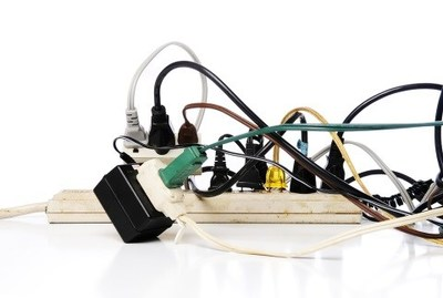 Overloaded power strips are a common cause of electrical fire. (CNW Group/Technical Safety BC)