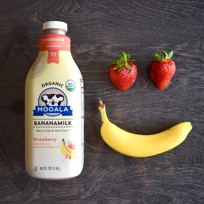 Mooala Strawberry Bananamilk