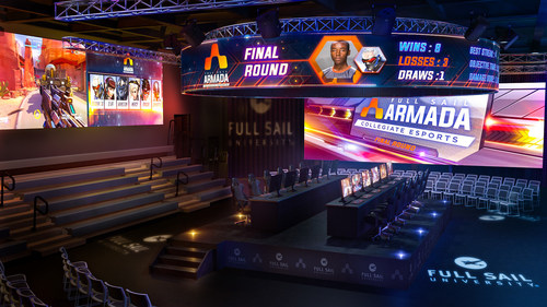 """Full Sail University Unveils Plans to Build """"The Fortress"""" The Largest On-Campus Collegiate Esports Arena in the U.S."""