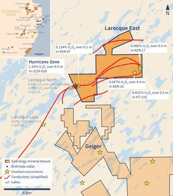 Figure 1 – Larocque East Property Location Map (CNW Group/IsoEnergy Ltd.)