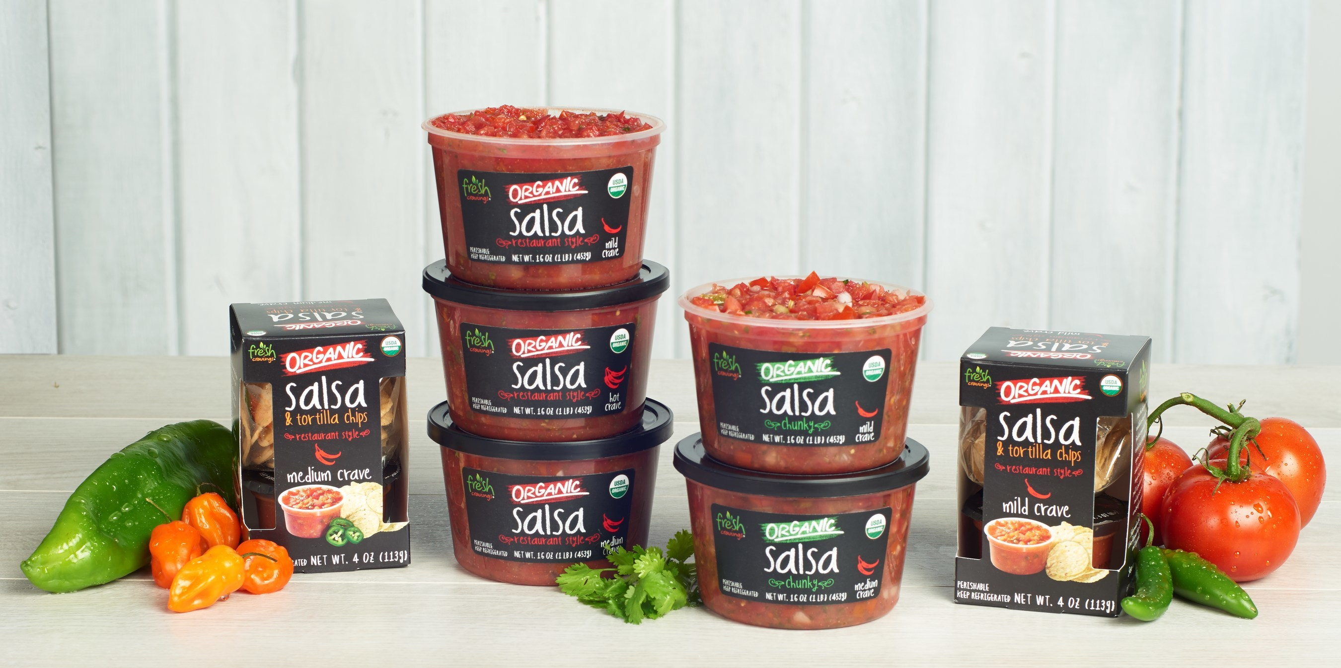 Fresh Cravings Organic Refrigerated Salsa is Now Available in All Florida Publix Super Markets