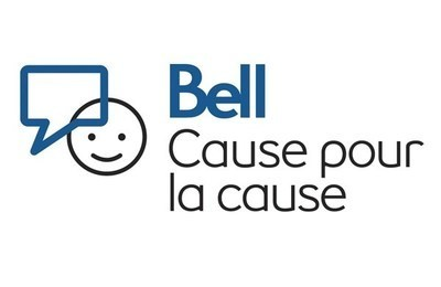 Logo : Bell Cause pour la cause (Groupe CNW/Bell Canada)
