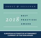 2018 European Automotive Aftermarket Company of the Year Award (PRNewsfoto/Frost & Sullivan)