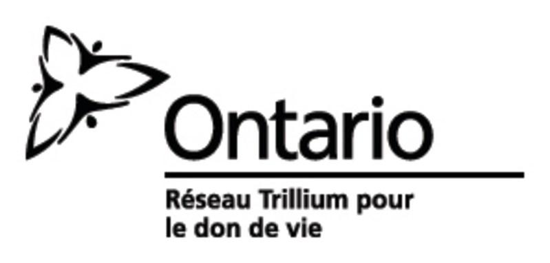 Réseau Trillium pour le don de vie (Groupe CNW/Le Réseau Trillium pour le don de vie)