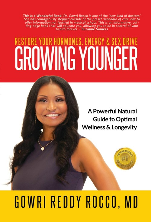 Women's Hormone Network Reports On Dr. Gowri Rocco's GROWING YOUNGER