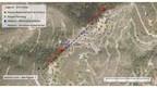 Figure 2 – Drill Location Plan (CNW Group/Minera Alamos Inc.)