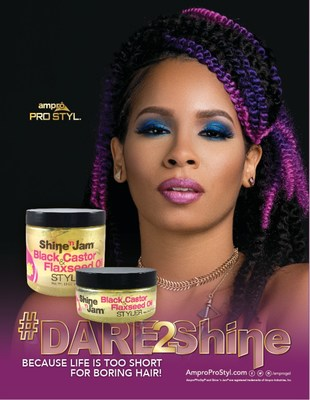 #Dare2Shine with the new Shine 'n Jam Black Castor & Flaxseed Oil Styler Available at Variety Wholesale, Dollar General, and Beauty Supply Stores Nationwide