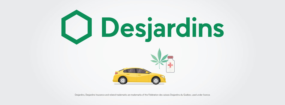 The majority of Canadians are worried about drug impaired driving (CNW Group/Desjardins Group)