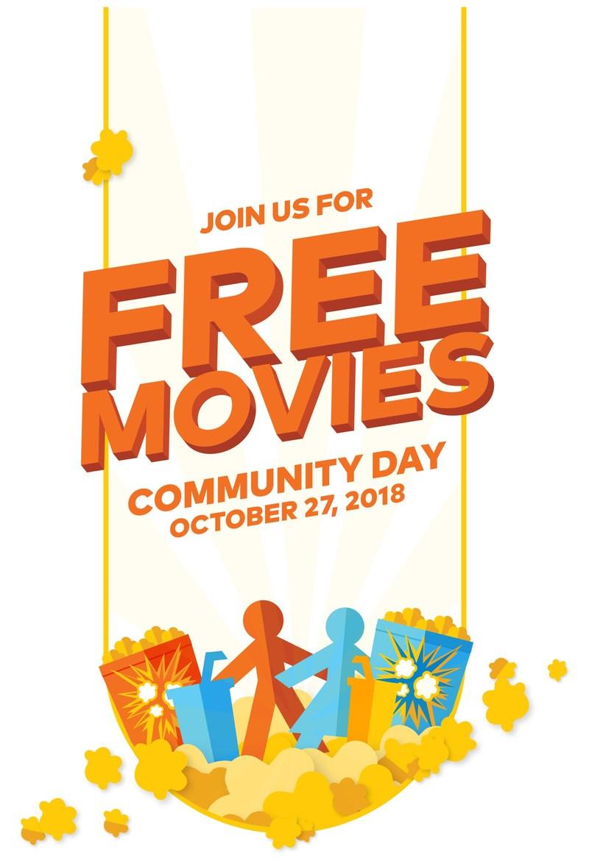 Cineplex Community Day 2018 (CNW Group/Cineplex)
