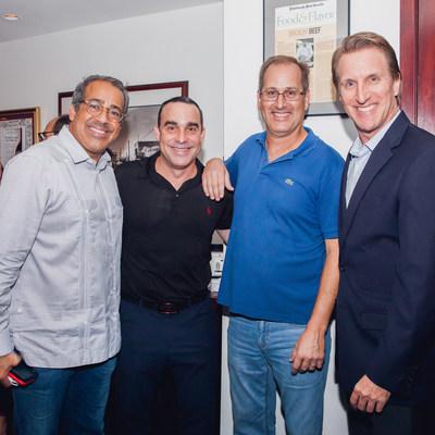 Francisco J. Cerezo, DLA Piper; Antonio Oritz, Eagle Home Mortgage; Richard Kleis, Aviation Quality Assurance; and Jose Salazar, Morgan Stanley.