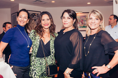 Mari Pelaez, Clyde & Co.; Yarissa Molina, Novae; Juliana Ubiñas, Euro Design Group; and Vivian Antunez, Modern Luxury.