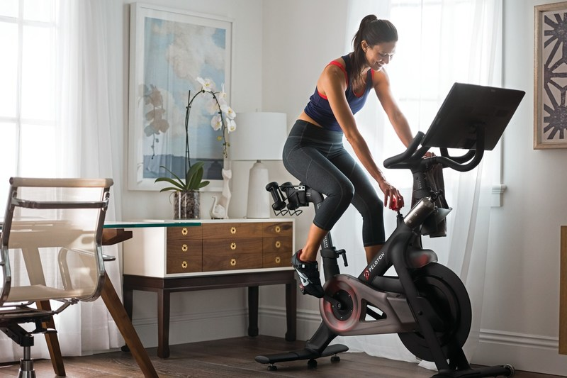 The Peloton Bike, now available in Canada. (CNW Group/Peloton)